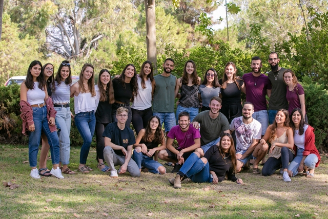 תמונה קבוצתית של הבמב״חים דפוס בארי 2019